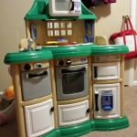 Arianna's new toy kitchen